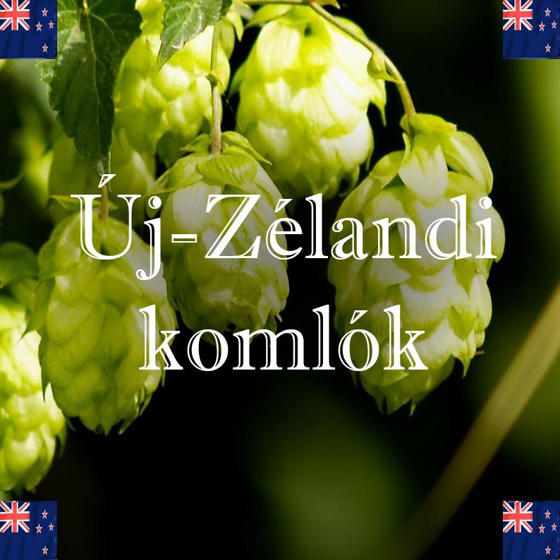 Új-Zélandi komlók